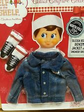 The Elf on the Shelf Couture: Denim Jacket for Boy or Girl Elf- NIP