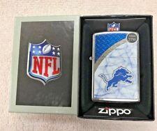 Zippo, Lighter, Detroit Lions, Nfl, Model# 28601