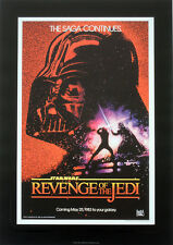 STAR WARS REPRO 1983 RETURN OF THE JEDI A3 FILM MOVIE POSTER c . NOT DVD