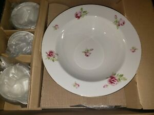 "New Ralph Lauren ""Hampton Blossom"" 5 Pc Serving Set"