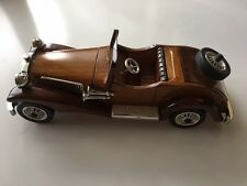 Collectibles car toys Hand Made Wooden Vintage Collection Car US Seller