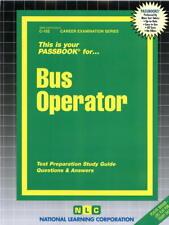 NEW Bus Operator Test Practice Passbook Upcoming Civil Service NYCT MTA Exam
