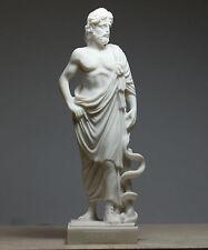 Asclepius Greek God of Medicine & Physicians Handmade Statue Sculpture 8.8΄΄