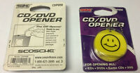 CD / DVD / BluRay / VHS Opener for packaging & wrap CDs, DVDs, Blu-Ray  and VHSs