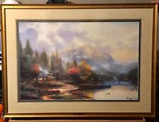 Thomas Kinkade - The End of a Perfect Day Iii 577/4850 S/N Artwork