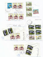 POLAND Stamps Collection Large Dealer Lot Used Postmarked Mount Glued to paper