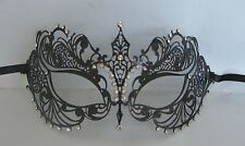 Black Filigree Metal Venetian Party Masquerade Mask No 5 Express Post Available