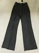 Paul Smith Ladies Dark Grey Woven Trousers - Size 42 - Made in Italy