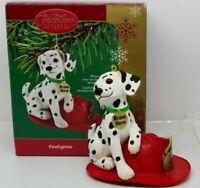Carlton Heirloom Ornament 2005 Firefighter - Dalmatian Dog - #CXOR055N