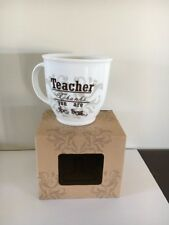 Teacher Thanks You Are The Best Mug
