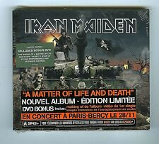 CD + DVD LIMITED EDITION (NEW) IRON MAIDEN A MATTER OF LIFE AND DEATH