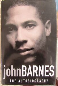 Football book by John Barnes The Autobiography signed
