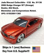 2006 Dodge Charger No. 91136 1:32 Diecast Collectible-1pc Orange No Box- New