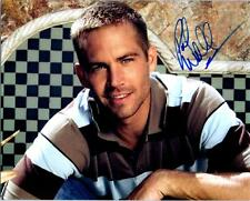 Paul Walker signed 8x10 picture Photo autographed pic with COA