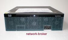 Cisco 3925/K9 ISR2 Router SPE100 1GB RAM 256MB CF C3900-SPE100/K9