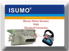 Blower Resistor Motor W/Electrical Connector Fits:Sebring 2006 Stratus 2005-2006
