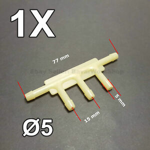 1X 5 - Way Tee Connector for Vacuum Hose for Ford MUSTANG BOSS 1970 , AMC