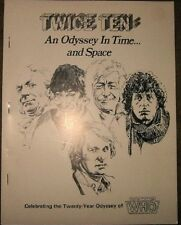 "Doctor Who Fanzine ""Twice Ten: An Odyssey In Time and Space"" GEN"