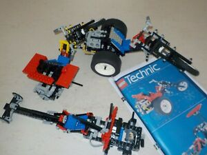 lego technic 8857 incomplet