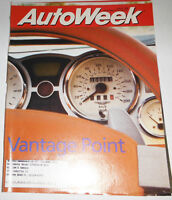Autoweek Magazine Vantage Point July 1998 080814R
