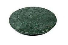 Natural Marble Green Chakla Perfectly Finished Base for Perfect Balance and Grip