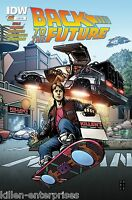 Back to the Future #1 Cover X Killen's Exclusive Variant 2015 - IDW 1st Print