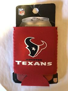 Houston Texans Can Koozie Coozie 12oz NFL License