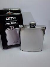 """ORIGINALE """" Zippo """" Flachmann acciaio inossidabile lucidato - 6 once / 180 ml -"""