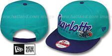 Hornets 'SNAP-IT-BACK SNAPBACK' Teal-Purple Hats by New Era