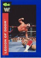1991 Classic WWF WWE #112 Legion of Doom