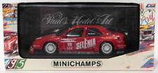 Voitures de courses miniatures rouge MINICHAMPS pour Alfa Romeo