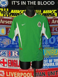 4.5/5 Mexico adults L 2003 football shirt jersey trikot soccer