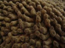 nr 375 Handgeknüpfter Hochflor Langflor Shaggy Teppich Wolle ca 240 x 170  Braun