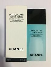 CHANEL DÉMAQUILLANT YEUX INTENSE Gentle Bi-Phase Eye Makeup Remover 100 ml. NEW