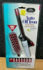 Vintage Vidal Sassoon Curling Iron and Ball Tipped Vented Hair Brush - NEW! 1994