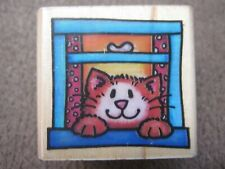 HELLO, KITTY! RUBBER STAMP- RUBBER STAMPEDE
