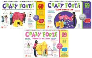 Crazy Forts 69 Piece Construction Playsets
