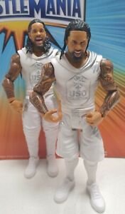 wwe mattel series 64 battle pack the usos uso brand new removed from package