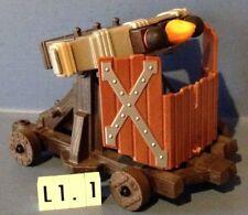 (L1.1) playmobil Baliste à 3 projectiles ref 4867 4865 4874 3666 6000 6001 4866
