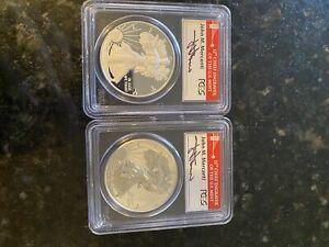 2-pc 2012-S American Silver Eagle Proof 75th Anniv Set PCGS PR69 First Mercanti