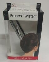 Mia French Twister Updo Styling Tool, Large, Clear