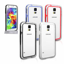 Yousave Accessories For The Samsung Galaxy S5 Silicone Bumper Case Cover + Film