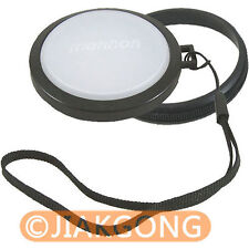 62mm White Balance Lens Filter Cap with Filter Mount WB