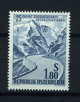 AUSTRIA 1960 MNH SC.656 Gross Glockner,mountain road