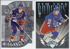 "WAYNE GRETZKY 1996-97 Leaf Preferred ""Steel Power"" #5 #d 2107/2500 (1 CARD ONLY)"