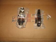 Pair Brand New Bumper Overriders Guards MG TD TF Bugeye Austin Healey 100-4