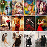 Women Couples DIY Paint By Numbers Kit Digital Oil Painting Art Home Wall Decor