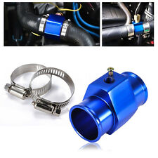 38mm Water Temp Temperature Joint Pipe Sensor Gauge Radiator Hose Adapter Kit