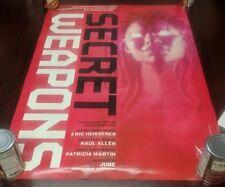 SECRET WEAPONS promo poster 22x32  Valiant               I LOVE DARK HORSE!