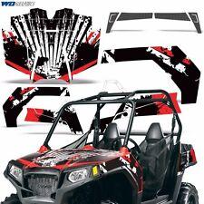 New Graphic Kit Polaris RZR570 UTV Decal Sticker ATV SxS Wrap RZR 570 Parts RS